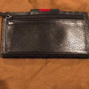 244baeba0 Gucci Bags | Monogram Ladies Web Continental Wallet Black | Poshmark